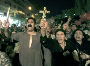 Persecuted Egyptian Christians.