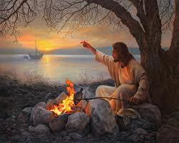Jesus-on-beach