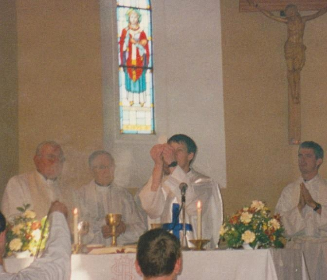 First Mass in my home parish of St Fiachna, Bonane Kenmare. This happened the following day - 8th June