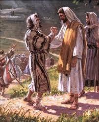 Thankful Leper healing Jesus